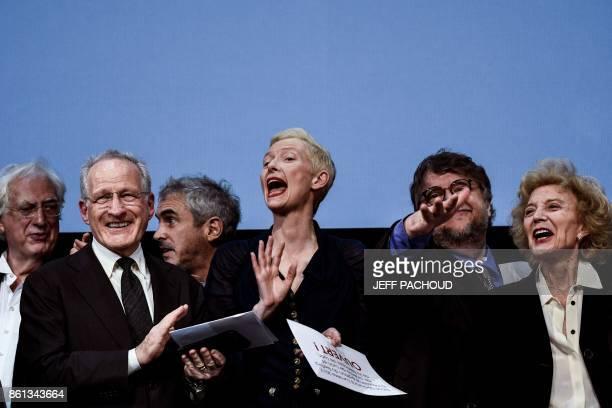 French director Bertrand Tavernier US director Michael Mann British actress Tilda Swinton Mexican Director Guillermo del Toro and Spanish actress...