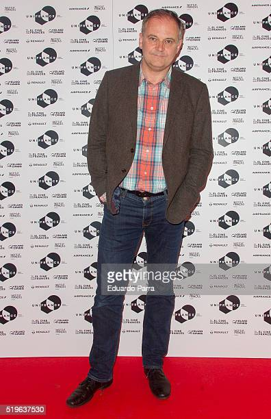French director Christian Carion attends 'A Date With French Cinema' presentation at Ideal cinema on April 7 2016 in Madrid Spain