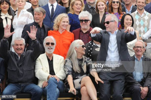 French director Claude Lelouch Austrian director Michael Haneke New Zealander director Jane Campion the General Delegate of the Cannes Film Festival...