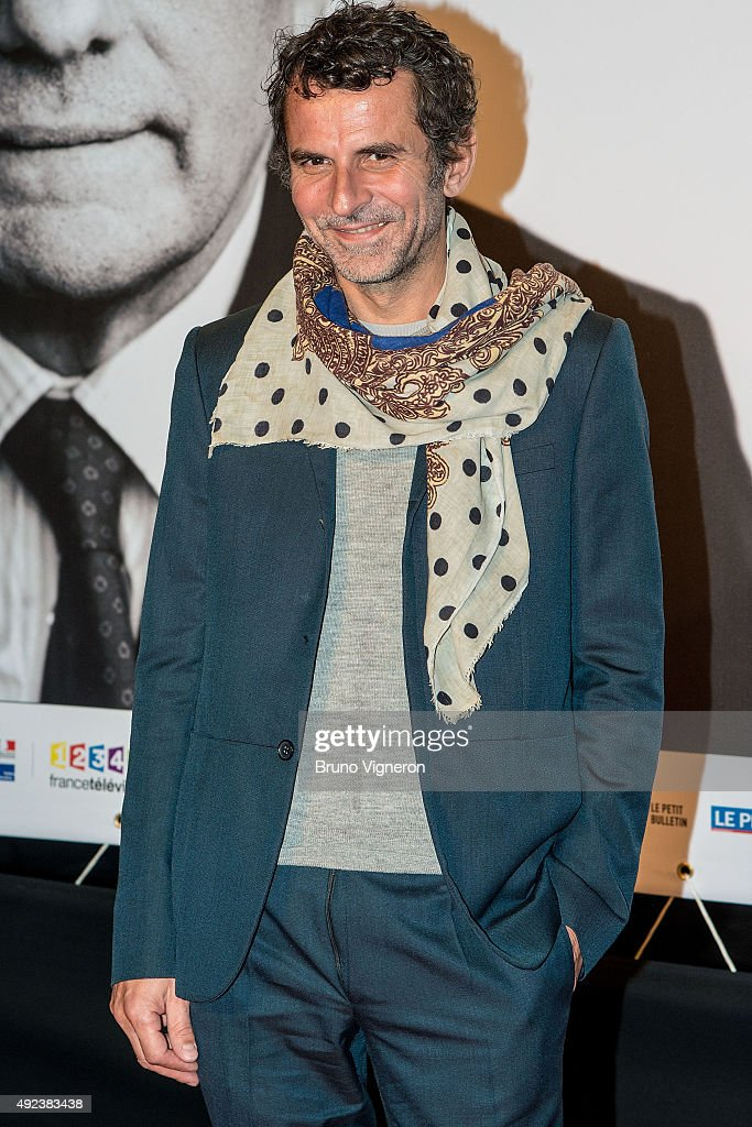 French Director Eric Lartigau attends the Opening Ceremony of the 7th Film Festival Lumiere on October 12, 2015 in Lyon, France.