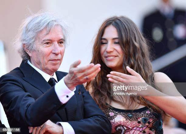 French director Jacques Doillon and French actress Izia Higelin leave the premiere of the film Rodin in competition at the 70th annual Cannes Film...