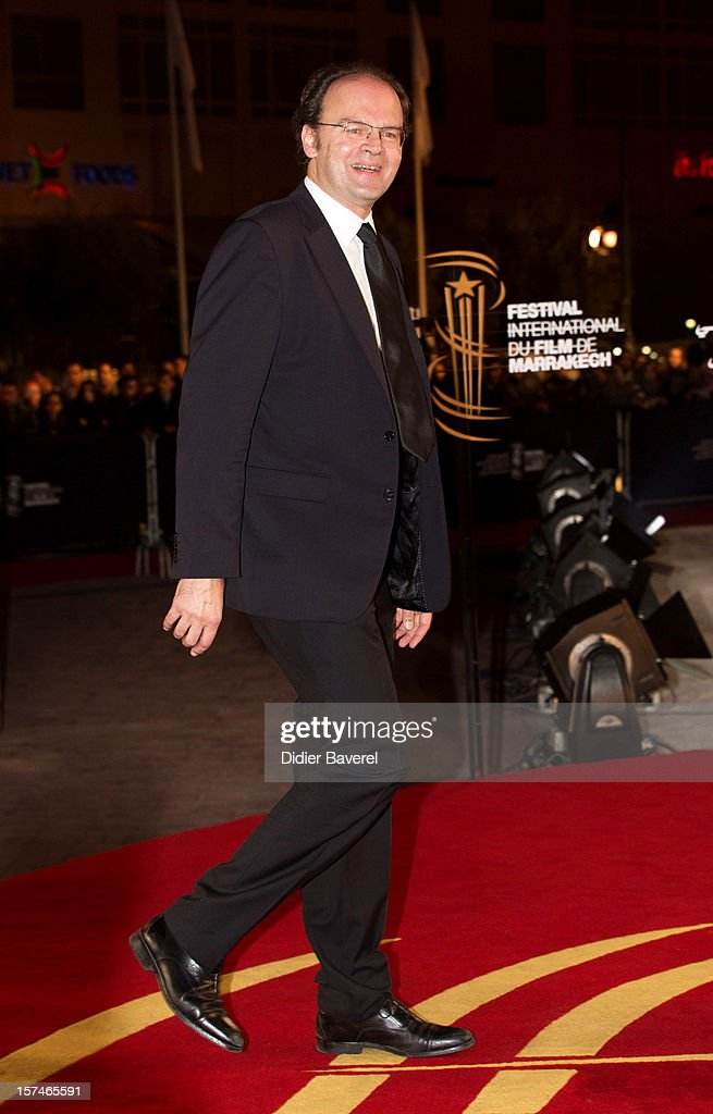 French Director Jean Pierre Ameris attends the 12th International Marrakech Film Festival on December 3, 2012 in Marrakech, Morocco.