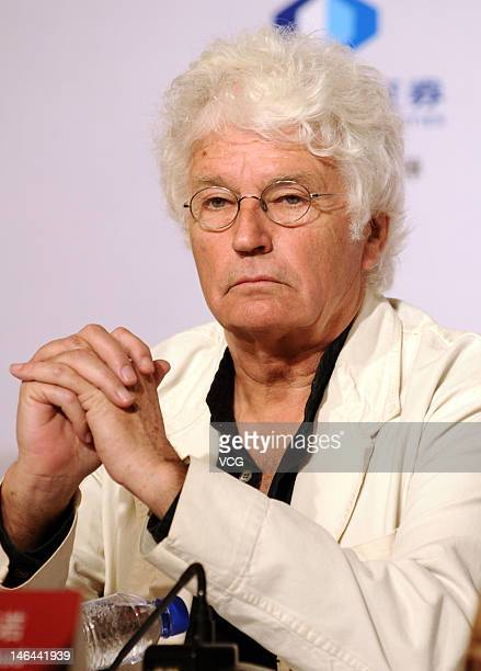 French director JeanJacques Annaud attends the jury press conference during the 15th Shanghai International Film Festival at Crowne Plaza Hotel on...