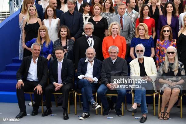 French director Laurent Cantet Romanian director Cristian Mungiu US director Jerry Schatzberg French director Claude Lelouch Austrian director...
