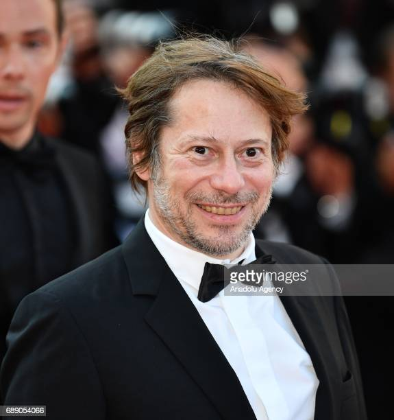 French director Mathieu Amalric arrives for the screening of the film D'apres Une Histoire Vraie out of competition at the 70th annual Cannes Film...