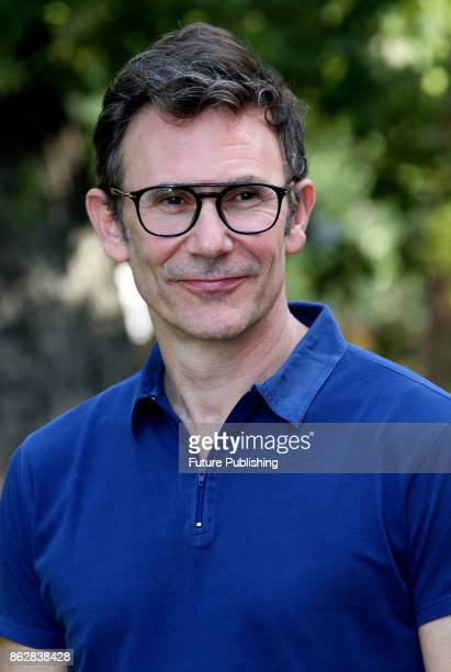 French director Michel Hazanavicius attends a photocall for 'Redoubtable ' on October 18 2017 in Rome Italy Marco Ravagli / Barcroft Images LondonT44...