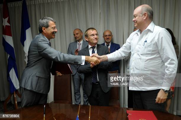 French Director of the Department of Latin America and the Caribbean of the French Development Agency Herve Conan Cuban Foreign Trade and Investment...