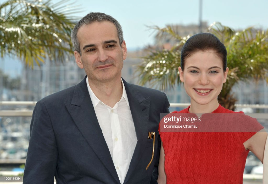 French director Olivier Assayas and Austrian actress Nora Von Waldstatten attend the 'Carlos' Photo Call held at the Palais des Festivals during the 63rd Annual International Cannes Film Festival on May 20, 2010 in Cannes, France.