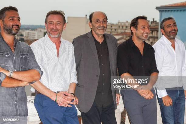 French director Olivier Nakache French actor JeanPaul Rouve French actor JeanPierre Bacri French actor Gilles Lellouche and French director Eric...