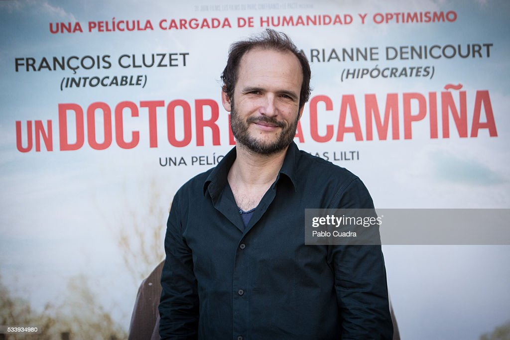 French director <a gi-track='captionPersonalityLinkClicked' href=/galleries/search?phrase=Thomas+Lilti&family=editorial&specificpeople=7463792 ng-click='$event.stopPropagation()'>Thomas Lilti</a> presents 'Medicin De Campagne' (Una Doctor en la Campina) at the Princesa Cinema on May 24, 2016 in Madrid, Spain.
