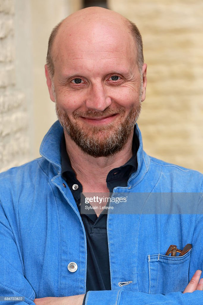 French director Thomas Vincent poses during photo session before press conference for the premiere of his last film 'La Nouvelle Vie de Paul Sneijder' on May 27, 2016 in Lille, France.
