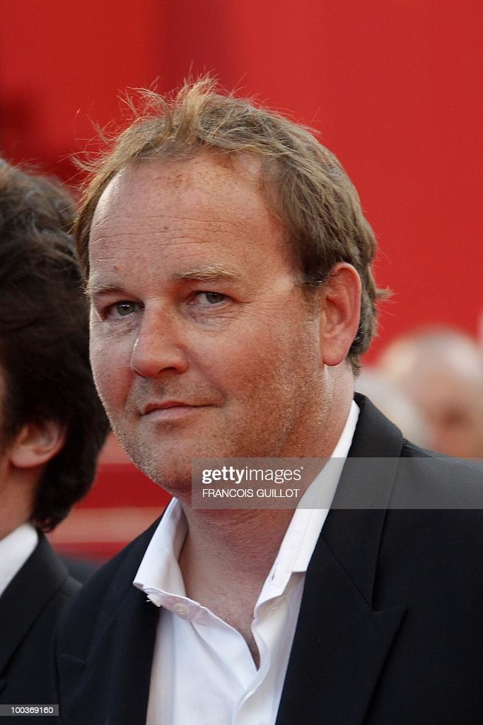 French director Xavier Beauvois arrives for the screening of 'Des Hommes et des Dieux' (Of God and Men) presented in competition at the 63rd Cannes Film Festival on May 18, 2010 in Cannes.