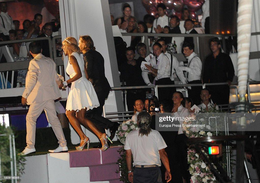 David Guetta Renews Wedding Vows In Ibiza - August 28, 2012
