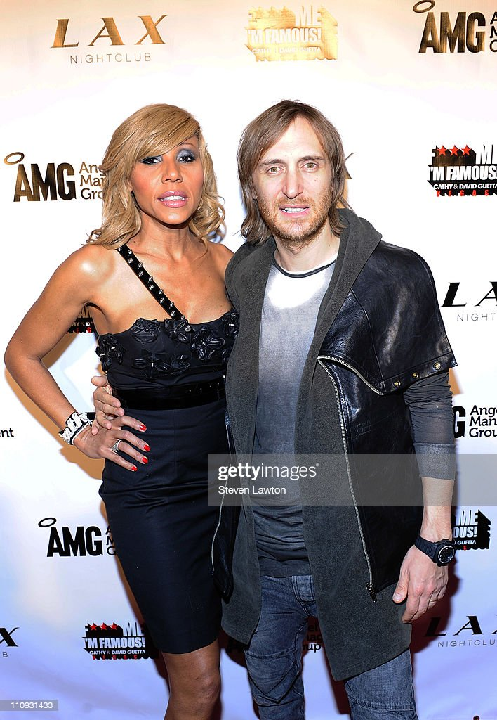 French DJ David Guetta and his wife Cathy arrive for debut launch party for 'F*** Me I'm Famous' at the LAX Nightclub at the Luxor Resort Casino on...