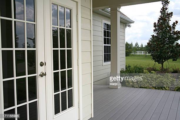 French Doors, Country Home Porch