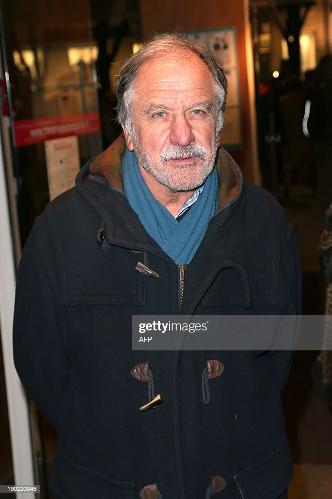 French ecologist Noel Mamere arrives for a special event gathering artists and celebrities in support of French government plans to legalise gay marriage and same-sex adoption on January 27, 2013 in Paris, two days before parliament takes up the text, which has been met with strong opposition from the right and the Catholic Church.