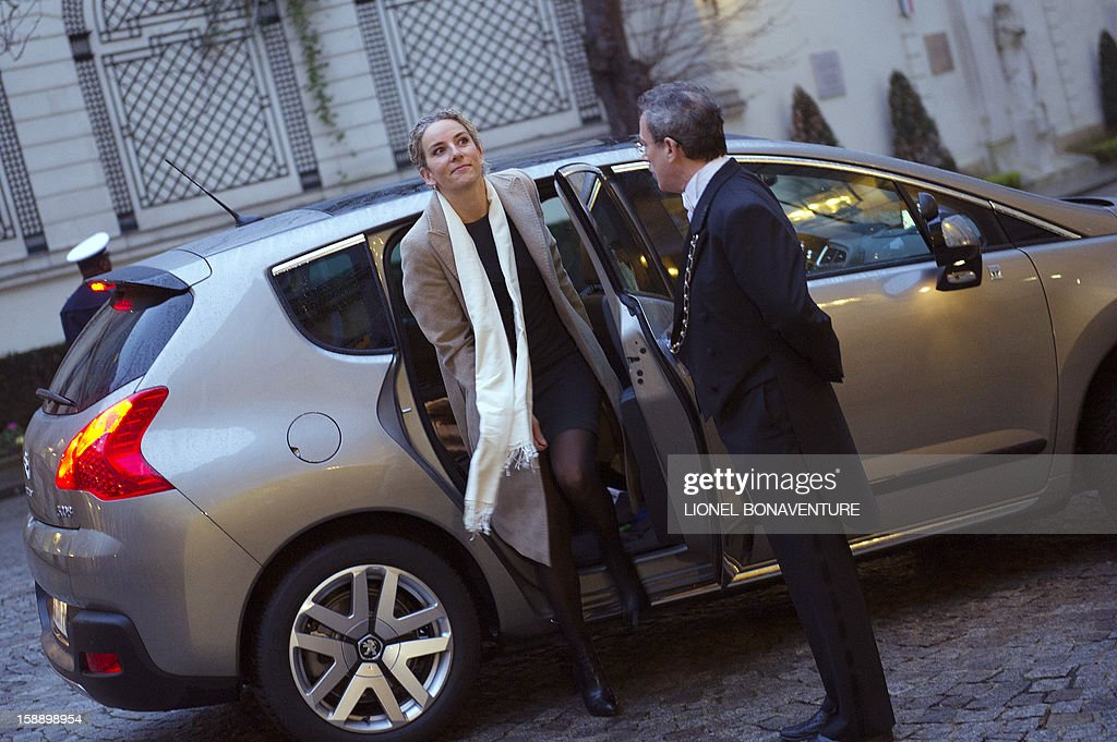 French Ecology Minister Delphine Batho arrives at the Ministry of Interior to attend a breakfast with ministers on January 3, 2013 in Paris, prior to first cabinet meeting of the year.