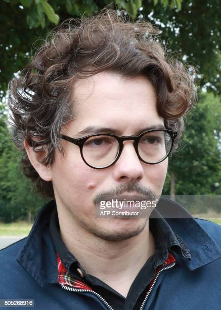 French economist Thomas Porcher arrives for the launch of a movement led by French Socialist member Benoit Hamon in Reuilly on July 1 2017 / AFP...
