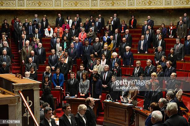 French Economy Minister Emmanuel Macron French Culture Minister Audrey Azoulay French Labour minister Myriam El Khomri French Prime Minister Manuel...