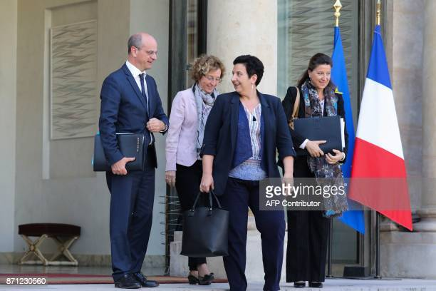 French Education Minister JeanMichel Blanquer French Labour Minister Muriel Pénicaud French Minister of Higher Education Research and Innovation...