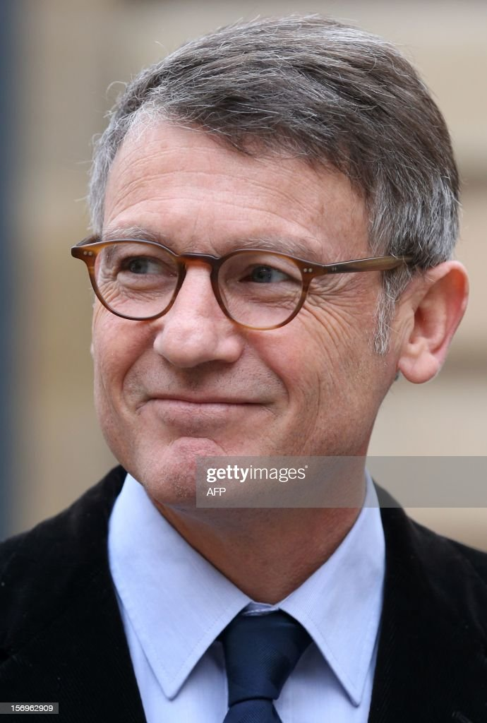 French Education minister Vincent Peillon arrives, on November 26, 2012 at the elite research institution College de France in Paris, to attend the opening of the meeting for Higher Education and Research.