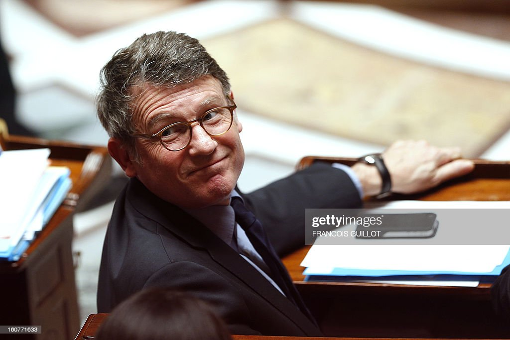 French Education Minister Vincent Peillon takes part in a session of questions to the government at the National Assembly on February 5, 2013 in Paris.