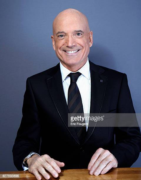 French engineerforecaster meteorologist and weather presenter on TF1 Louis Bodin Photographed in PARIS