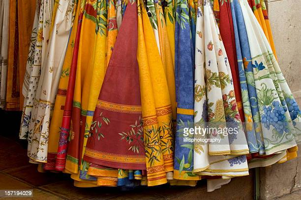 French Fabric Tablecloths in Provence