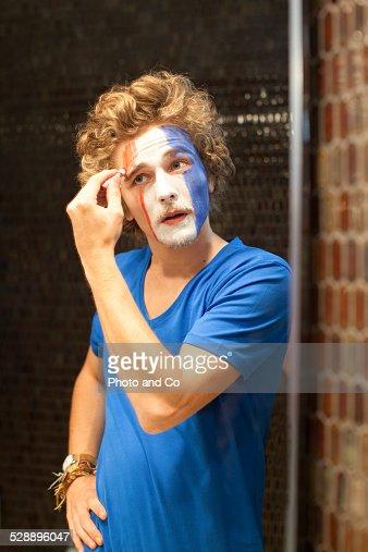 french fan make up
