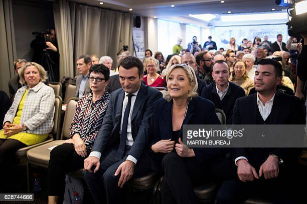 French farright Front National party member and mayor of Hayange Fabien Engelmann French farright Front National party president member of European...