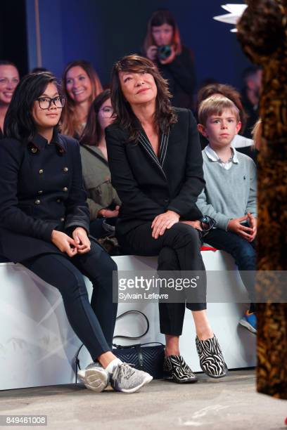 French fashion designer Barbara Bui attends the 10th '48h Maisons De Mode' fashion show on September 15 2017 in Lille France