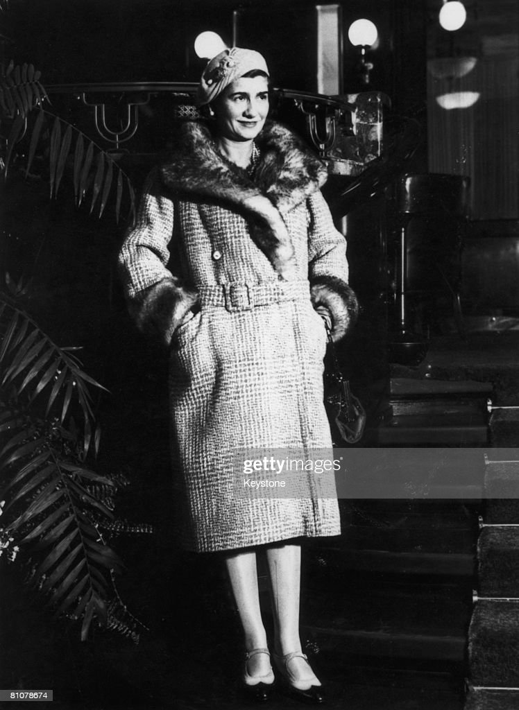 French fashion designer Gabrielle 'Coco' Chanel (1883 - 1971) in New York City, 1932.