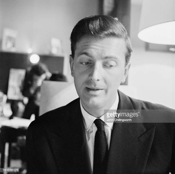 French fashion designer Hubert de Givenchy at his design house at the Plaine Monceau in Paris 27th October 1955 Original publication Picture Post...