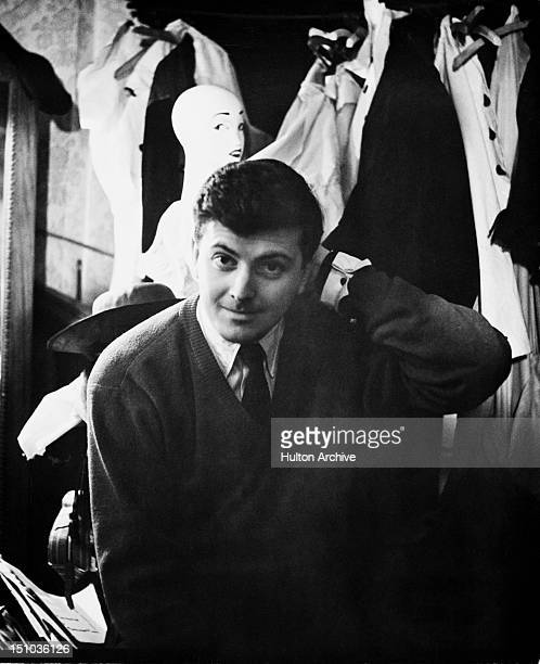 designer for givenchy y8su  French fashion designer Hubert de Givenchy at his design house at the  Plaine Monceau in Paris