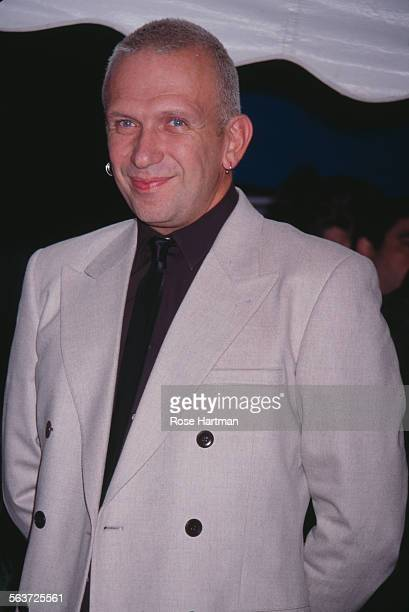 French fashion designer Jean Paul Gaultier at Madison Square Garden New York City circa 1998