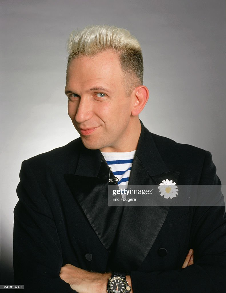 French Fashion Designer Jean-Paul Gaultier