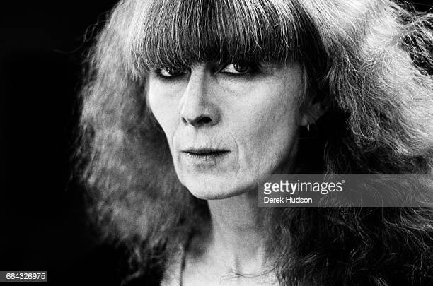 French fashion doyenne Sonia Rykiel who died on the 25th of August 2016 at the age of 86 photographed here in her atelier in the rue de Grenelle in...