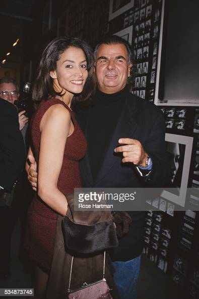 French fashion photographer Patrick Demarchelier and American fashion model and actress Kara Young at Demarchelier's exhibition at the Shafrazi Art...