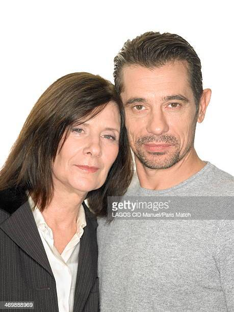 French film director Catherine Breillat and the french rapper/actor Kool Shen alias Bruno Lopes are photographed for Paris Match on January 23 2014...