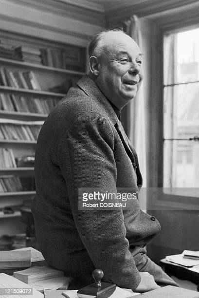 French Film Director Jean Renoir In 1954