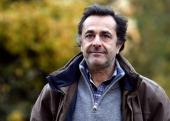 French film director Nicolas Vanier poses on November 21 2013 in Paris ahead of the release of his film 'Belle et Sebastien' on December 18 AFP PHOTO...
