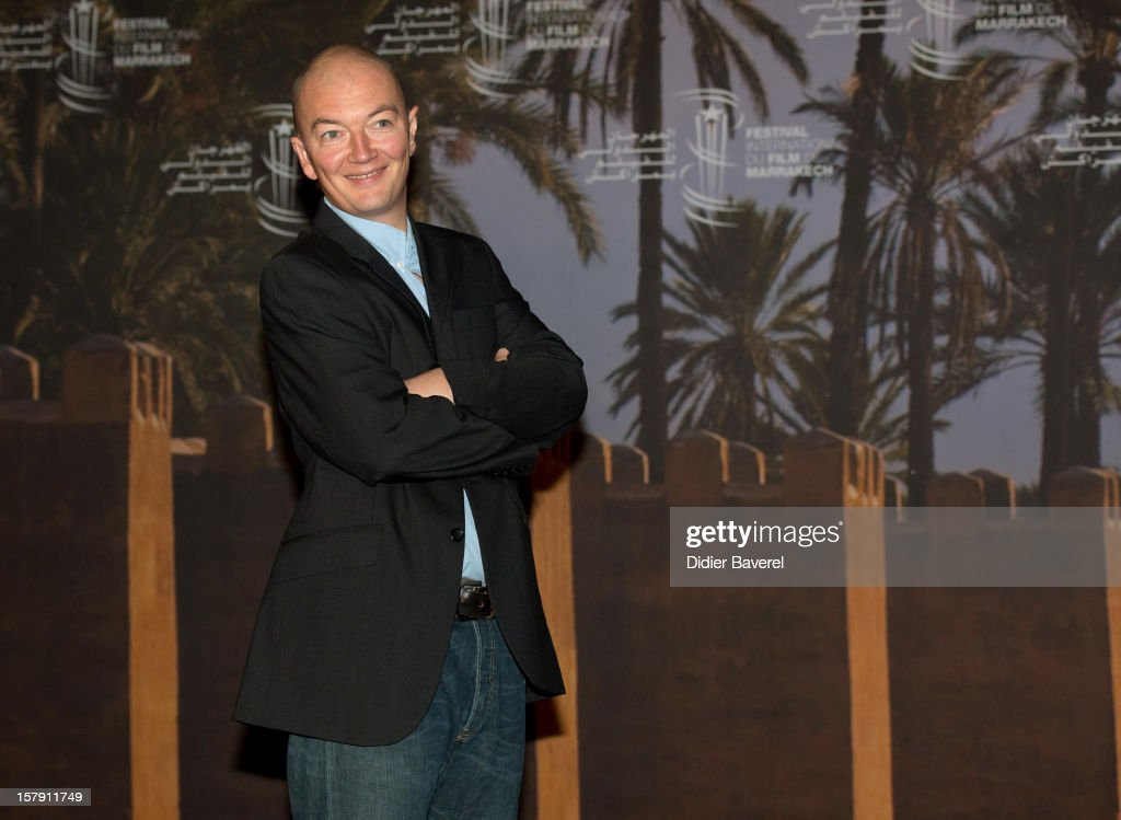 French Film Director <a gi-track='captionPersonalityLinkClicked' href=/galleries/search?phrase=Samuel+Collardey&family=editorial&specificpeople=5638394 ng-click='$event.stopPropagation()'>Samuel Collardey</a> poses during a photocall for his movie 'Little Lion' at 12th International Marrakech Film Festival on December 7, 2012 in Marrakech, Morocco.