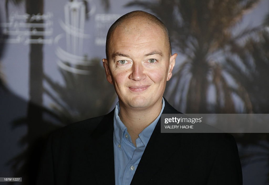 French film director Samuel Collardey poses for a picture during a photocall for the film 'Little Lion' at the 12th Marrakesh International Film Festival on December 7, 2012.