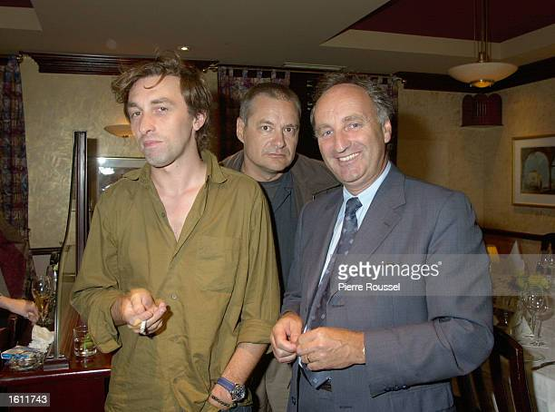 French Film maker JeanPierre Jeunet joins music composer Yann Tiersen August 30 2001 in Montreal Jeunet''s new film 'Le Fabuleux Destin d''AmTlie...