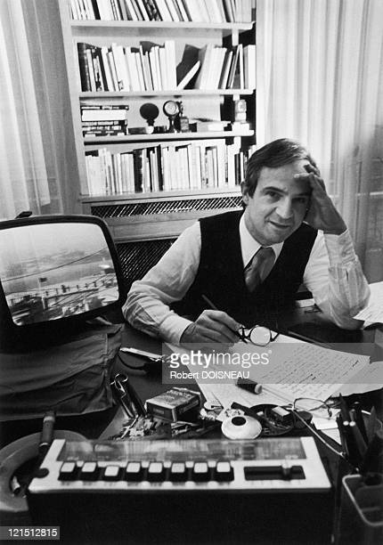 French Filmmaker Francois Truffaut 1979