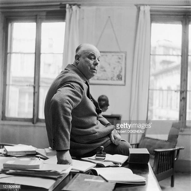 French Filmmaker Jean Renoir In 1954