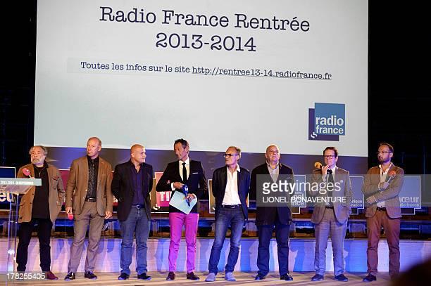 French Fip radio station director Julien DelliFiori FranceMusique station director Olivier MorelMaroger FranceCulture station director Olivier Poivre...