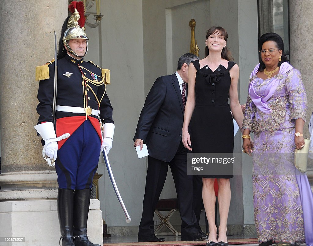 Carla Bruni-Sarkozy Welcomes African Presidents Wives at ...