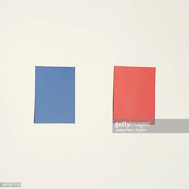 French Flag Painted On Wall