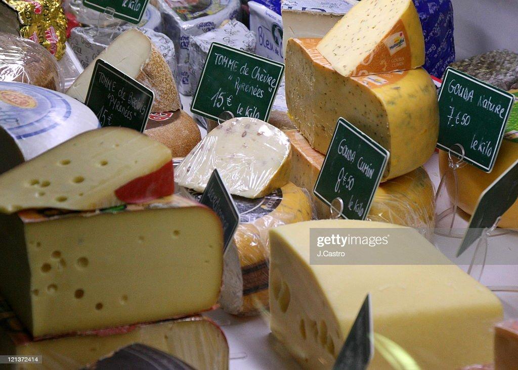 French food market : Stock Photo